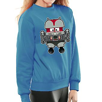 V.I.N.CENT L.F 396 Droid The Black Hole Android Women's Sweatshirt