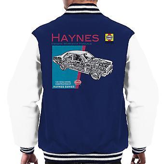 Haynes Owners Workshop Manual 0108 Vauxhall Victor FE Men's Varsity Jacket