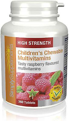 Childrens-chewable-multivits-raspberry