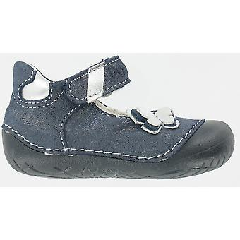Primigi Girls Maga Pre-walkers Navy Blue