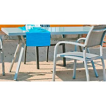 Hevea Table aluminum amberes-150x90 silver (Garden , Furniture and accessories , Tables)