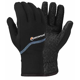 Montane Mens Power Stretch Pro Grippy Glove Black (Small)