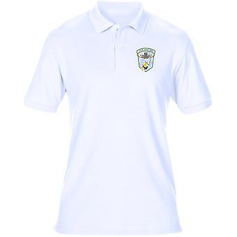 USMC Marines MAG 11 broderad Logo - Mens Polo Shirt