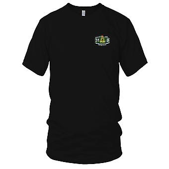 US Army - 3rd Military Police Group Military Occupational Specialty MOS Rating Embroidered Patch - 31 B Military Police Mens T Shirt