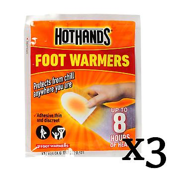 Hothands Foot Warmers 3 Pairs