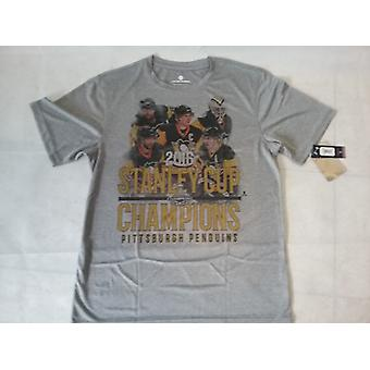 Pittsburgh Penguins Levelwear First Squad 2016 Stanley Cup Champions Tee Senior