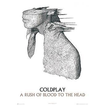 Coldplay Album plakat plakat Print