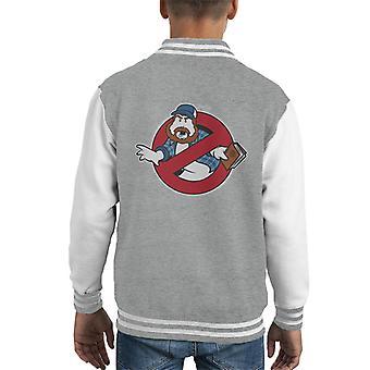 Supernatural Ghostbusters Mix Kid's Varsity Jacket