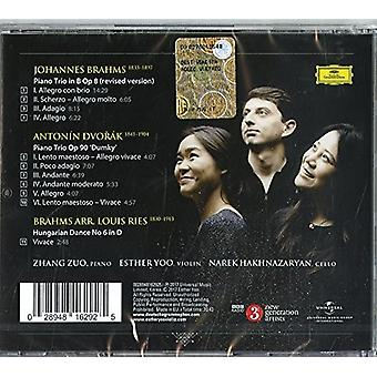 Z.E.N. Trio - Brahms & Dvorak Piano Trios [CD] USA import