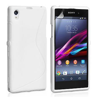 Caseflex Sony Xperia Z1 S-Line Gel Case - White
