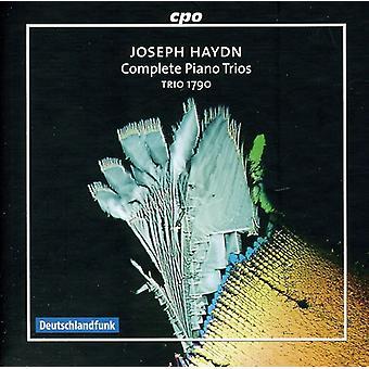 J. Haydn - Joseph Haydn: Importación de Estados Unidos completa tríos de Piano [CD]