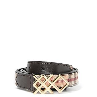 Burberry women's 388521420 brown leather belt