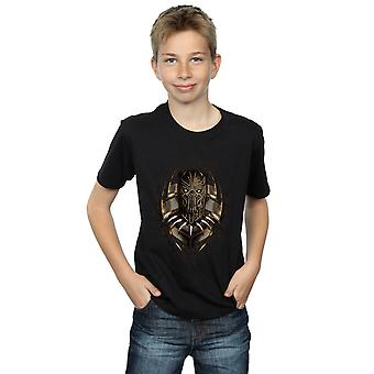 Marvel Boys Black Panther Gold Killmonger T-Shirt