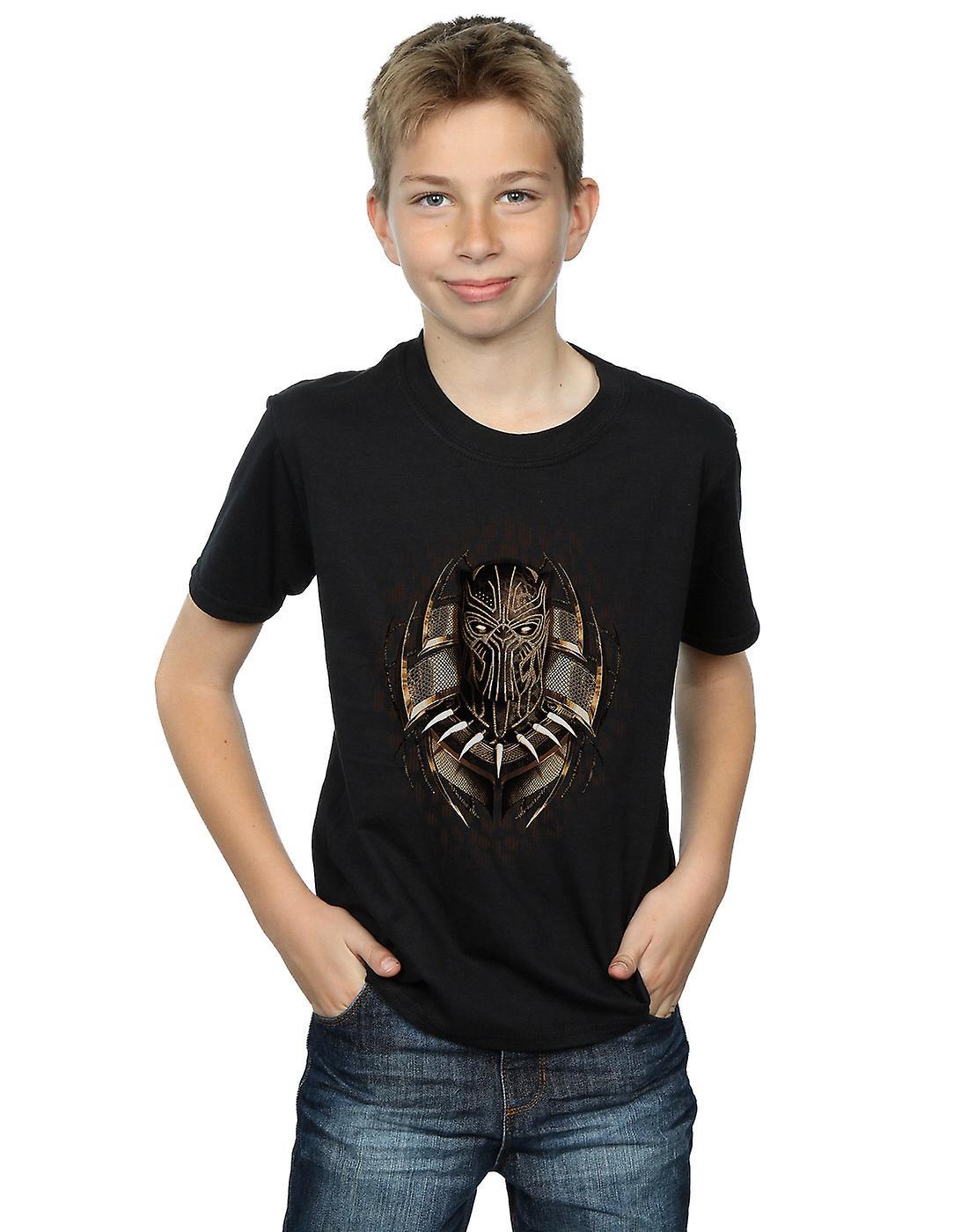 Marvel pantera nera oro Killmonger t-shirt