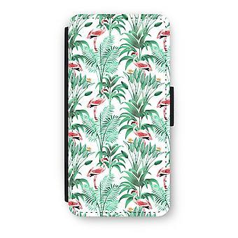 iPhone 6/6S Plus Flip Case - Flamingo blade