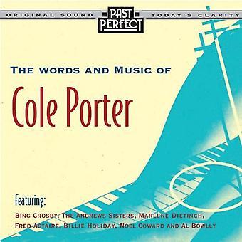Ord og musik af Cole Porter: 20s, 30s & 40s Audio CD-forskellige