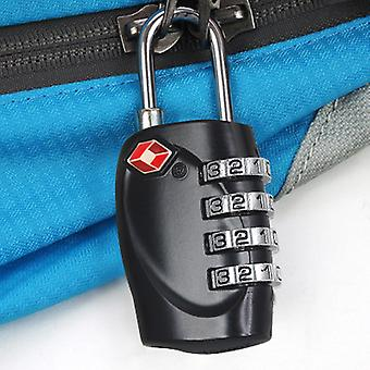 TRIXES 4-Dial TSA Combination Padlock Luggage Suitcases Travel Holiday Airport Gate