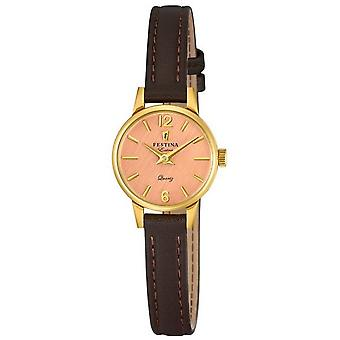 Festina Lady watch extra leather band classic F20261/2