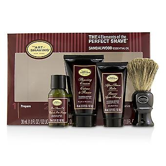 The Art Of Shaving The 4 Elements of the Perfect Shave Mid-Size Kit - Sandalwood 4pcs