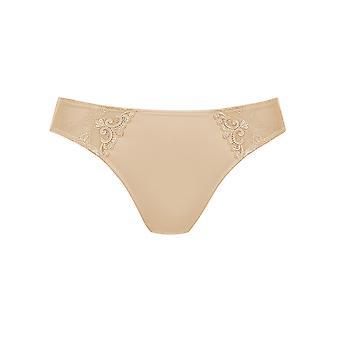Rosa Faia 1339-753 Women's Grazia Desert Nude Embroidered Knickers Panty Brief