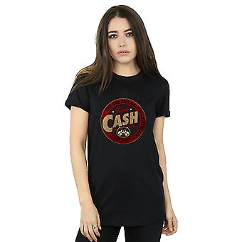 Johnny Cash Women's The One And Only Boyfriend Fit T-Shirt