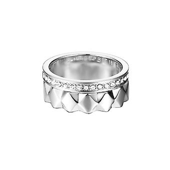 ESPRIT women's ring stainless steel Silver JW52891 cubic zirconia ring set ESSE11041A1
