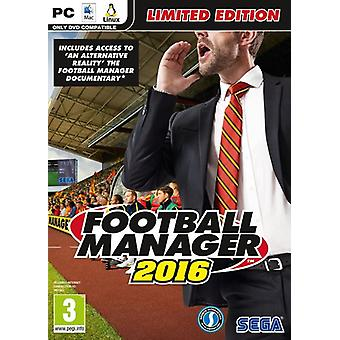 Gerente de futebol 2016 Limited Edition PC CD