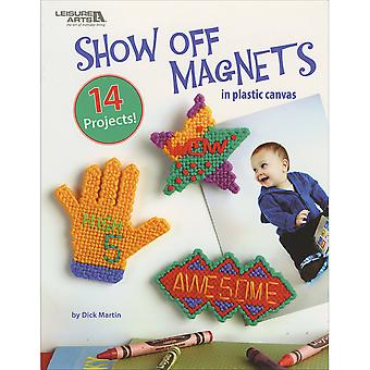 Leisure Arts-Show Off Magnets In Plastic Canvas