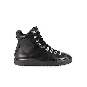DSQUARED2 WHISTLER SORT HØJ SNEAKER