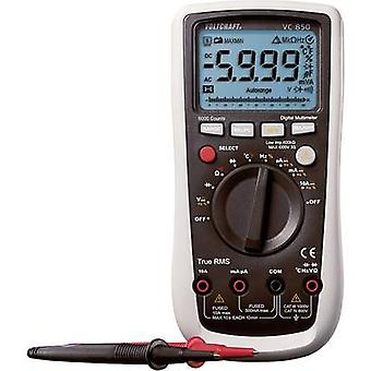 VOLTCRAFT VC850 Handheld multimeter Digital Calibrated to: Manufacturer's standards (no certificate) CAT III 1000 V, CA