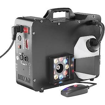 Renkforce DB-L6F Smoke machine incl. corded remote control, incl. cordless remote control, incl. light effect