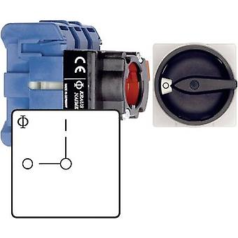 Kraus & Naimer KG10B T103/01 FT2 Isolator switch 20 A 1 x 90 ° Black 1 pc(s)