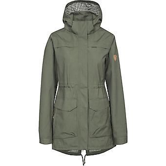 Trespass Womens/Ladies Amanita Waterproof Breathable Jacket Coat