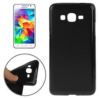 Skyddande fall TPU fodral för mobil Samsung Galaxy Grand Prime SM G530H svart