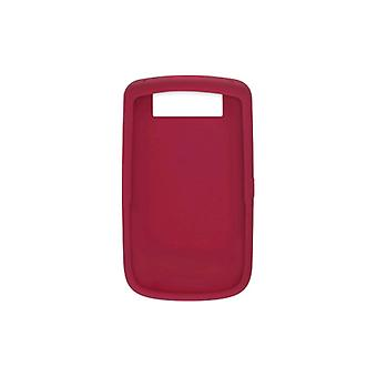 OEM RIM BlackBerry 9630 Tour 9650 Bold  Silicon Skin Case, Dark Red