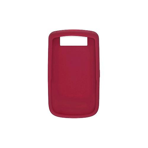 OEM RIM BlackBerry 9630 Tour 9650 Bold  Silicon Skin Case, Dark Red