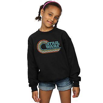 Star Wars Girls Retrowelle Logo Sweatshirt