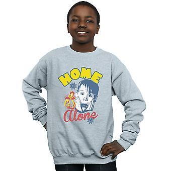 Home Alone Boys Snowflake Retro Sweatshirt
