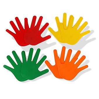 Bytomic Hand Shaped Agility Markers - 10 Pack