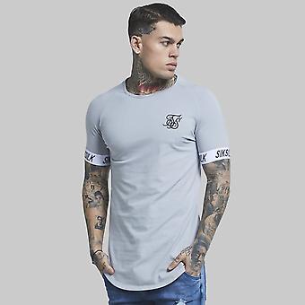 Sik Silk S/S Raglan Tech T-Shirt Steel Grey