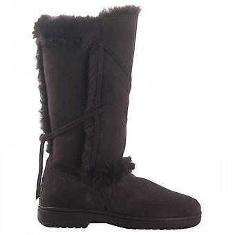 Canterbury Sheepskin Fur Tie Detail Long Boot