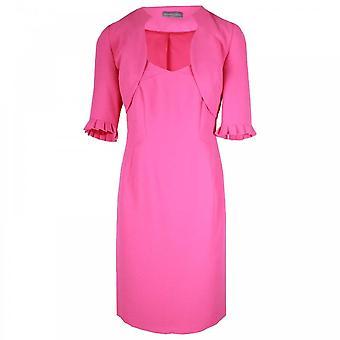 Michaela Louisa Sleeveless Dress & 3/4 Bolero Jacket