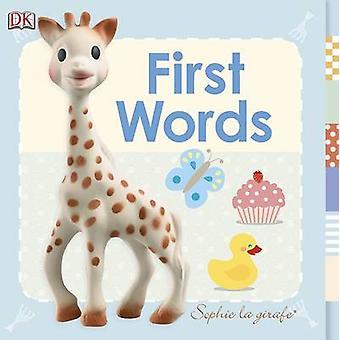 Palabras de Sophie La Girafe primero por DK - libro 9781409347408