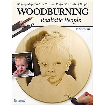 Woodburning Realistic People by Jo Schwartz - 9781565238800 Book
