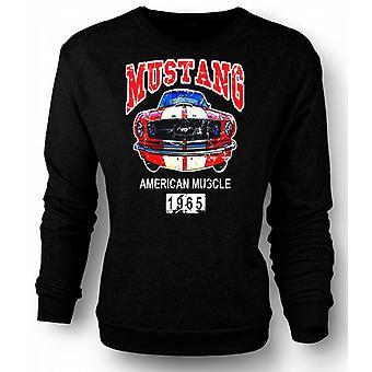 Kids Sweatshirt Mustang 65 Muscle - Car - Classic US Car