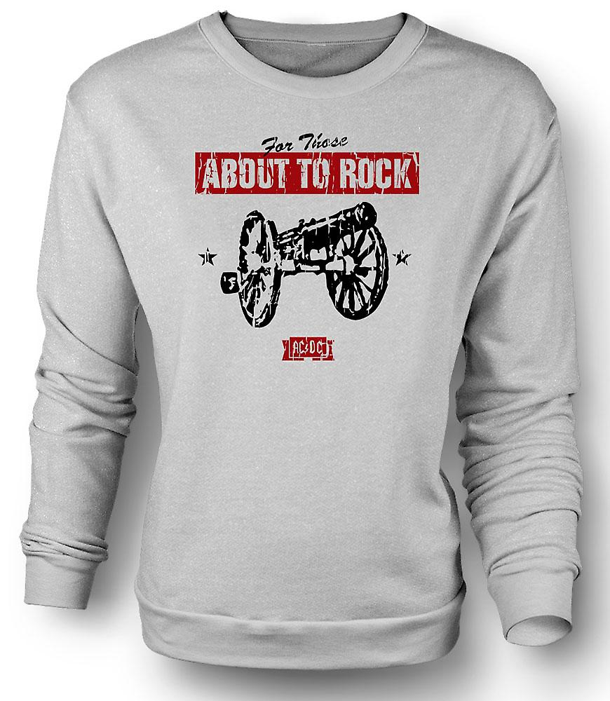 Felpa Mens AC/DC - For Those About To Rock