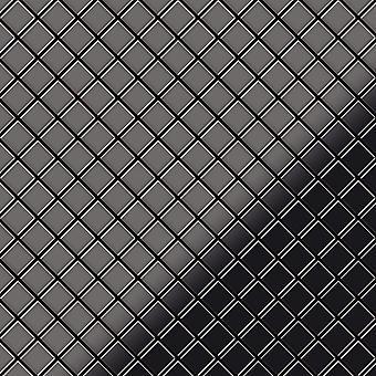 Metal mosaic Titanium ALLOY Diamond-Ti-SM