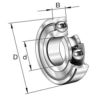 Fag 624-2Z Mini Pop Deep Groove Ball Bearing