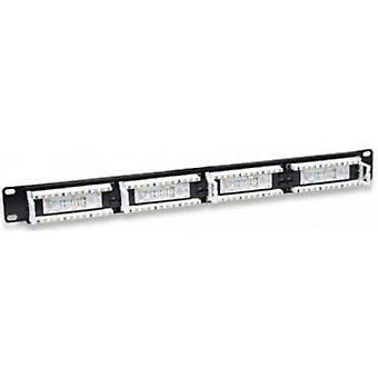 Patch Panel 24 porter UTP kategori 5e WP WPC-PAN-5U-24 19