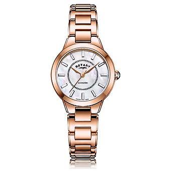 Rotary   Ladies Rose Gold Bracelet   LB05379/41 Watch